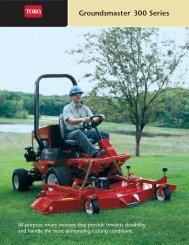 Groundsmaster® 300 Series - Toro
