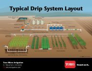 Typical Drip System Layout - Drip Irrigation