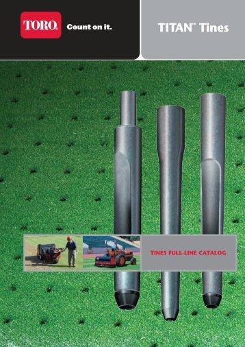 Intl Titan Tines Catalog - Toro