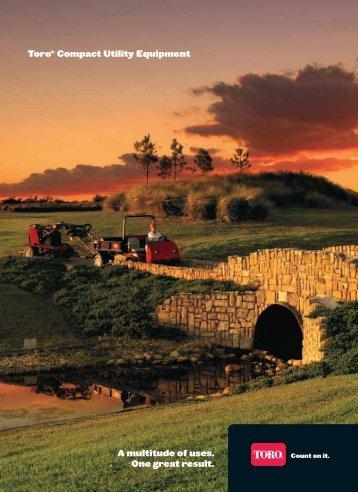Dingo and golf courses - Toro