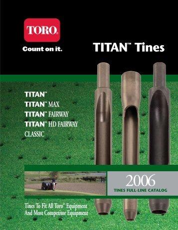 2006 Tines Catalog 3-21 - Toro