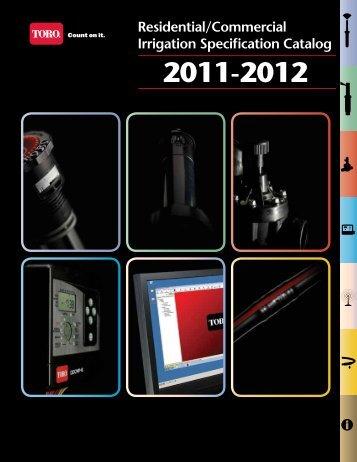 Toro Rescom 2011-2012 Cataloguel - Incledon