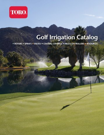 Golf Irrigation Catalog - Toro