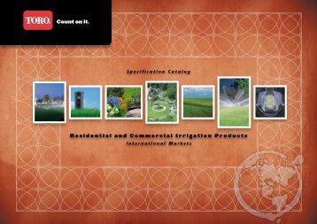 2009 International Res/Com Catalog - Toro