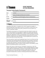2013-CD22 - Toronto Youth Equity Framework.docx - City of Toronto