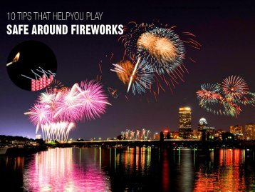 10 Safety Tips to Use Fireworks