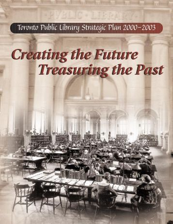 Toronto Public Library Strategic Plan 2000-2003