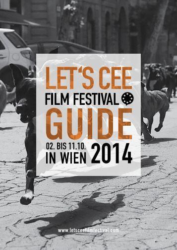 Programmheft LET'S CEE Film Festival 2014