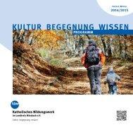 Programm Herbst/Winter 2014