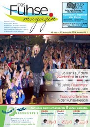 Fuhse Magazin 1/2014