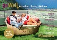 goWell Guide München Herbst/Winter 2014/2015