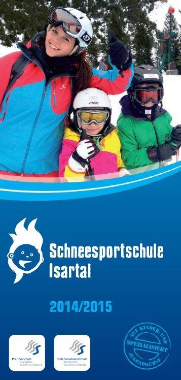 Schneesportschule Isartal 2014/2015