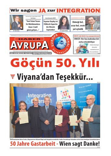 EUROPA JOURNAL - HABER AVRUPA SEPTEMBER 2014