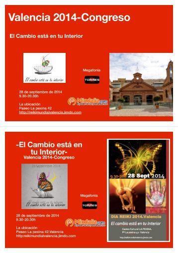 Valencia 2014-Congreso
