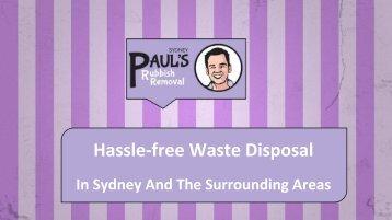 Paul's Rubbish Removal Sydney