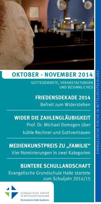Oktober - November 2014