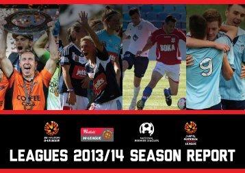 FFA Leagues 2013-14 Season Report - Final1_wz5hmwmbhz8x1rpmf92oyi7br