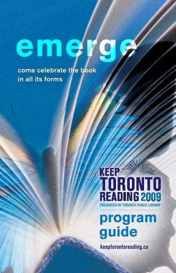 Download Program Guide (PDF) - Toronto Public Library