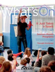 What's On - Toronto Public Library