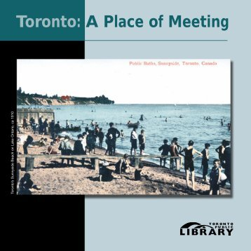 A Place of Meeting Brochure - Toronto Public Library