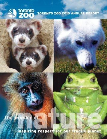 2010 Annual Report - Toronto Zoo
