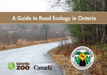 A Guide to Road Ecology in Ontario (pdf) - Toronto Zoo