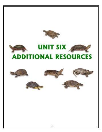 UNIT SIX: ADDITIONAL RESOURCES - Toronto Zoo