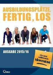 AUSBILDUNGSPLÄTZE, FERTIG , LOS - Kreis Northeim 2015/16