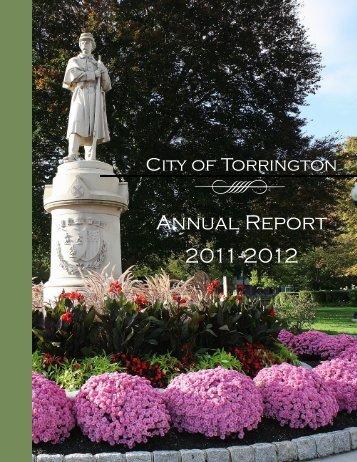 Annual Report 2011-2012 - City of Torrington, CT
