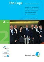 Die Lupe 2/2010 - Hauszeitschrift des ... - Diakoniewerk Essen