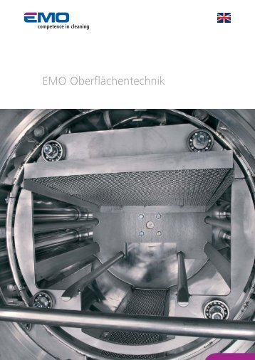 EMO OT Image brochure (PDF) - EMO Oberflächentechnik