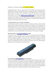 Ideal Reasons of Preferring an Original Acer Aspire 5735Z Battery.pdf