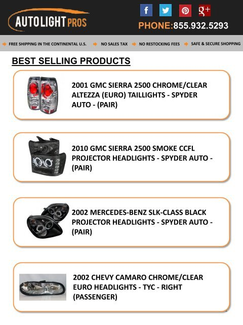 Auto Light Pros - Dealer of Branded Auto Lights