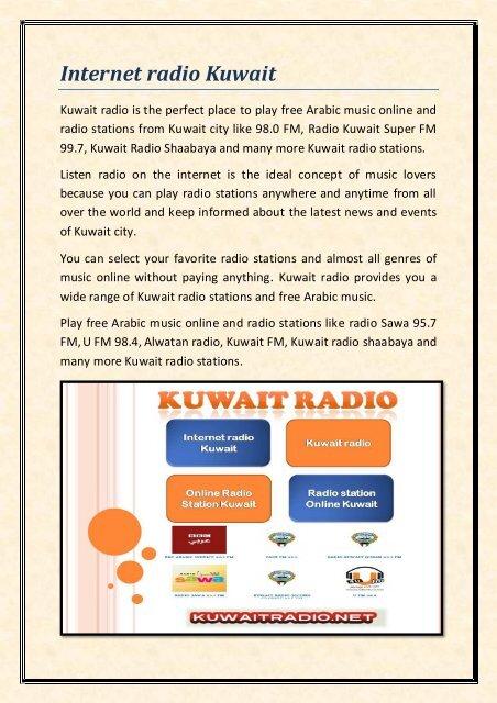 Internet radio Kuwait