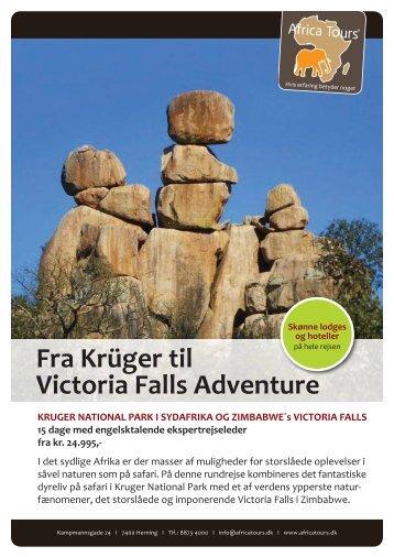 Fra Krüger til Victoria Falls Adventure