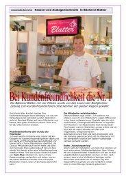 Anwenderbericht Bäckerei Blattner Biedigheim