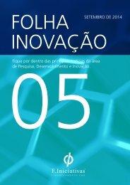 Folha Inovação 5ª Edição - F. Iniciativas Brasil