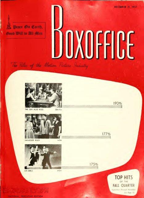Boxoffice December 21 1957