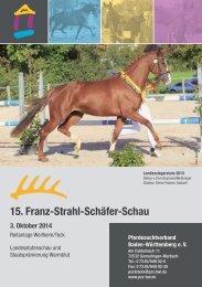15. Franz-Strahl-Schäfer-Schau