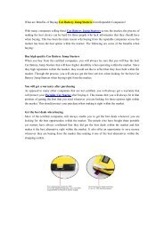 What are Benefits of Buying Car Battery Jump Starters from Reputable Companies?.pdf