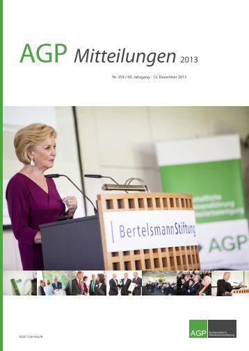 AGP Mitteilungen 2013