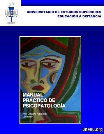 MANUAL PRÁCTICO DE PSICOPATOLOGÍA