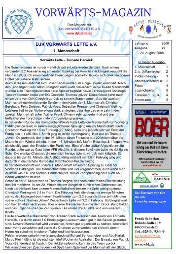 Ausgabe 79 - DJK Vorwärts Lette eV