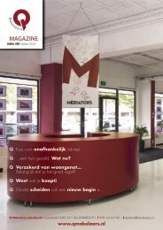 Q Makelaars Magazine #1 Oktober