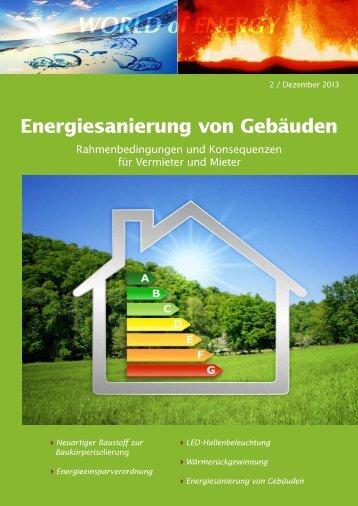 Energiesanierung von Gebäuden