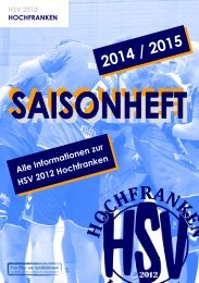Saisonheft 2014/2015