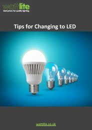 Changing To LEDs Guide