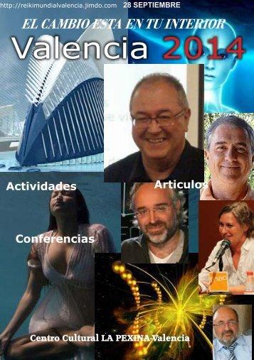 Valencia 2014 Congreso Dia Reiki