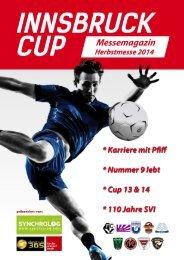 Innsbruck Cup Magazin Herbstmesse 2014