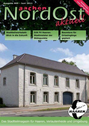 Nordost aktuell - Ausgabe 005 - Juni 2011 - Euregio-Aktuell.EU